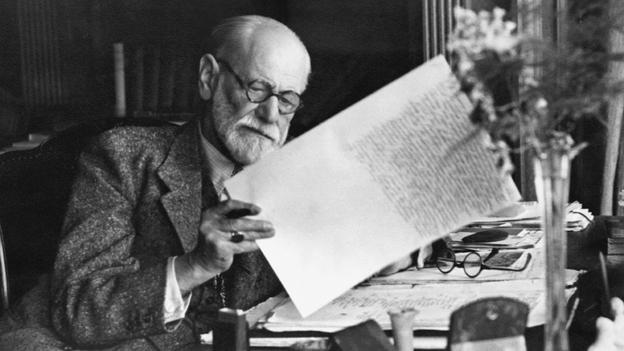 Sigmund Freud in 1920 (Corbis) taken from  http://www.bbc.com/culture/story/20140421-does-freud-still-matter