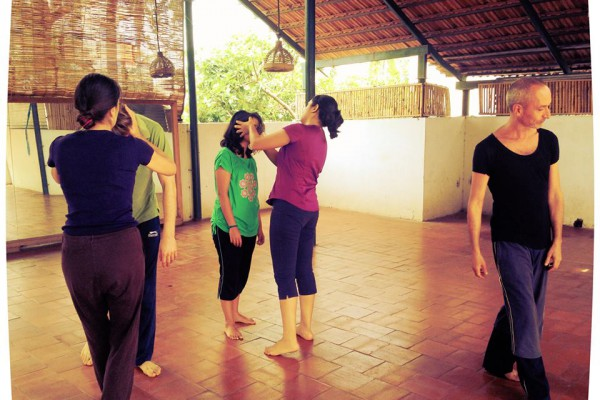 dance therapy and contact improvisation