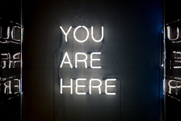 You are here by john-baker from unsplash edited